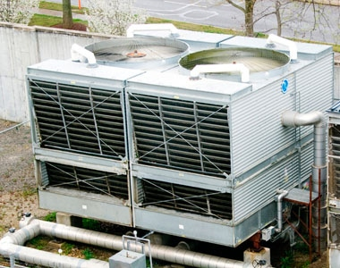 cooling tower treatment photo (roof top air conditioning units cooling tower maintenance chiller maintenance building energy performance )