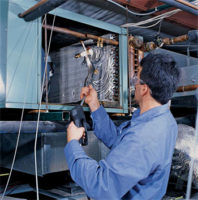 coil cleaning systems