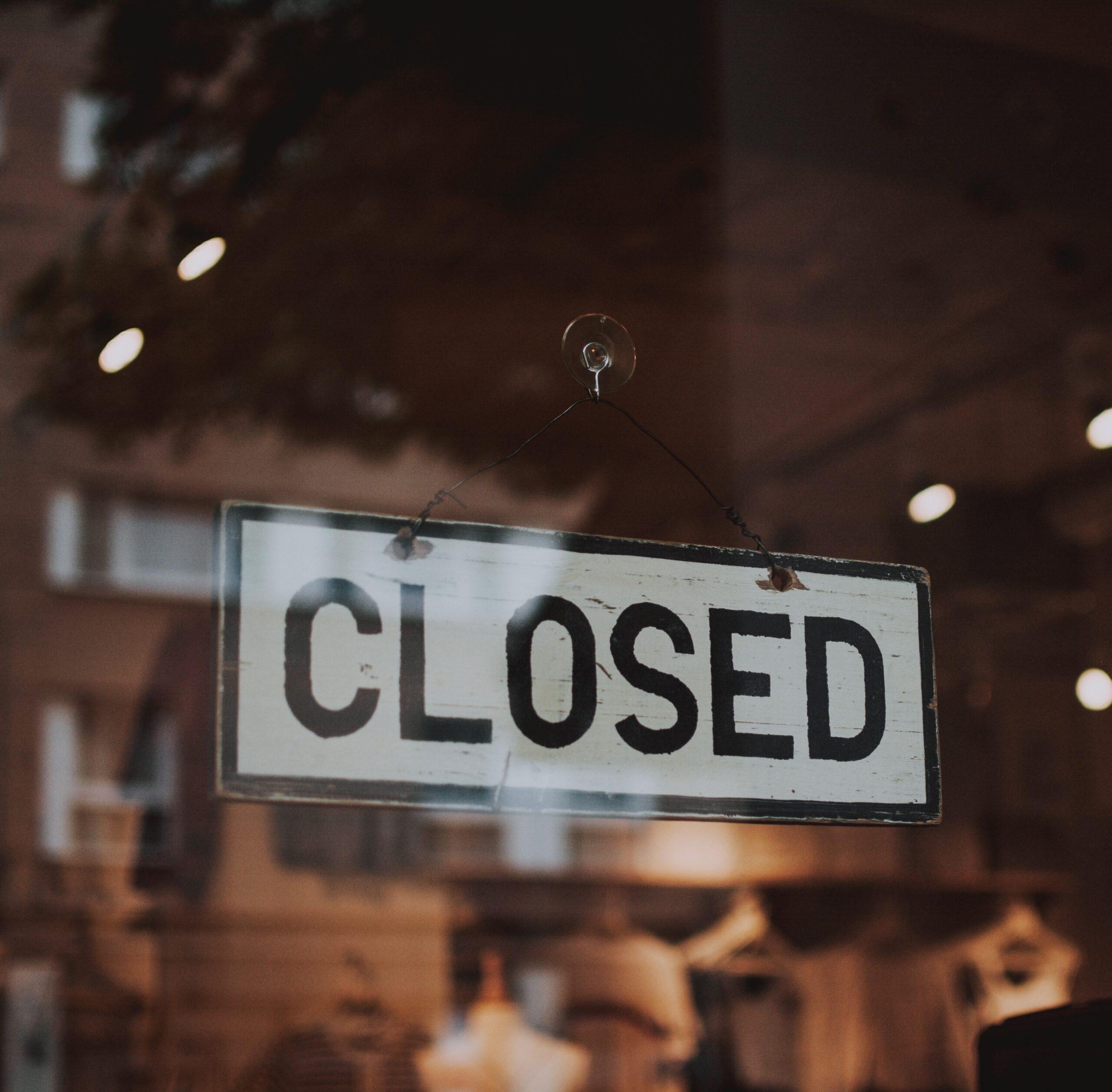 Closed due to Legionella
