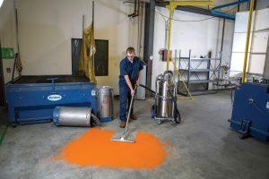Large Volume Industrial Vacuum HEPA, Wet/Dry, Explosion Proof Vacuum, 120V