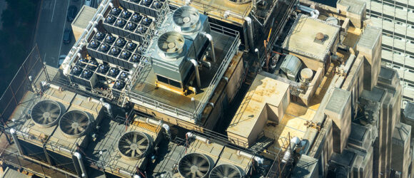 cooling tower cleaning