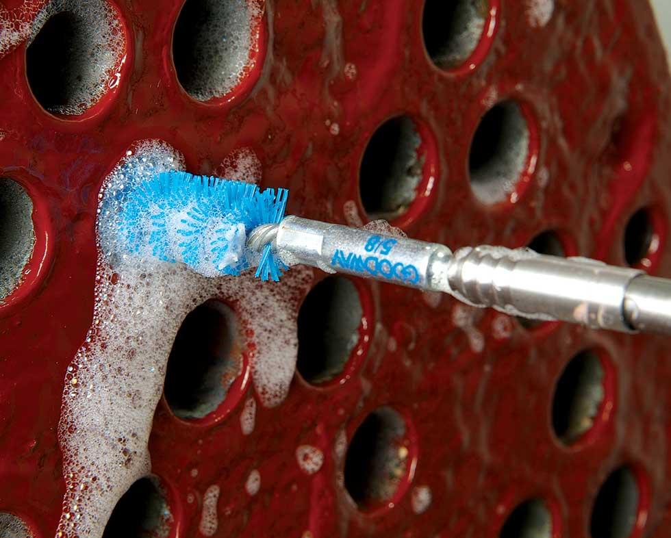 Ram 6 Chiller Tube Cleaner High Flow Chiller Tube