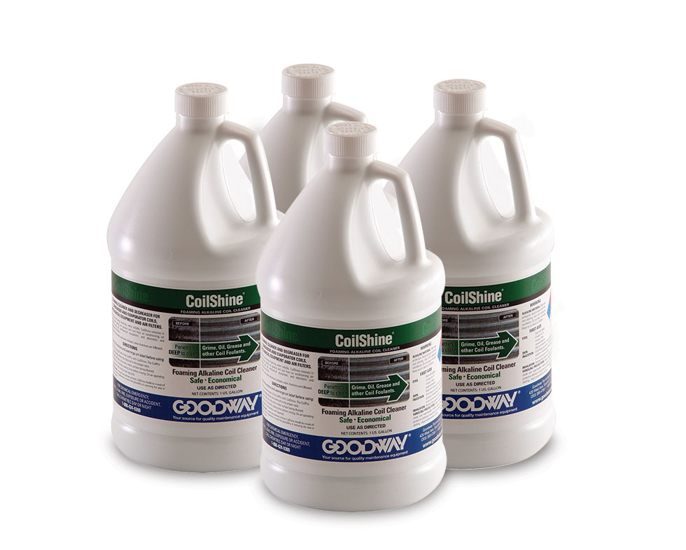 Hvac coil cleaner systems chemicals goodway technologies pagination sciox Images