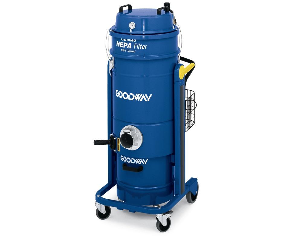 Industrial Blower Filters : Industrial vacuum dry air powered hepa goodway