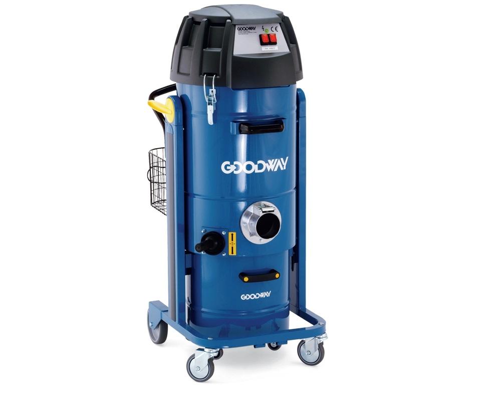 Industrial Vacuum Heavy Duty Dry W Twin Motors