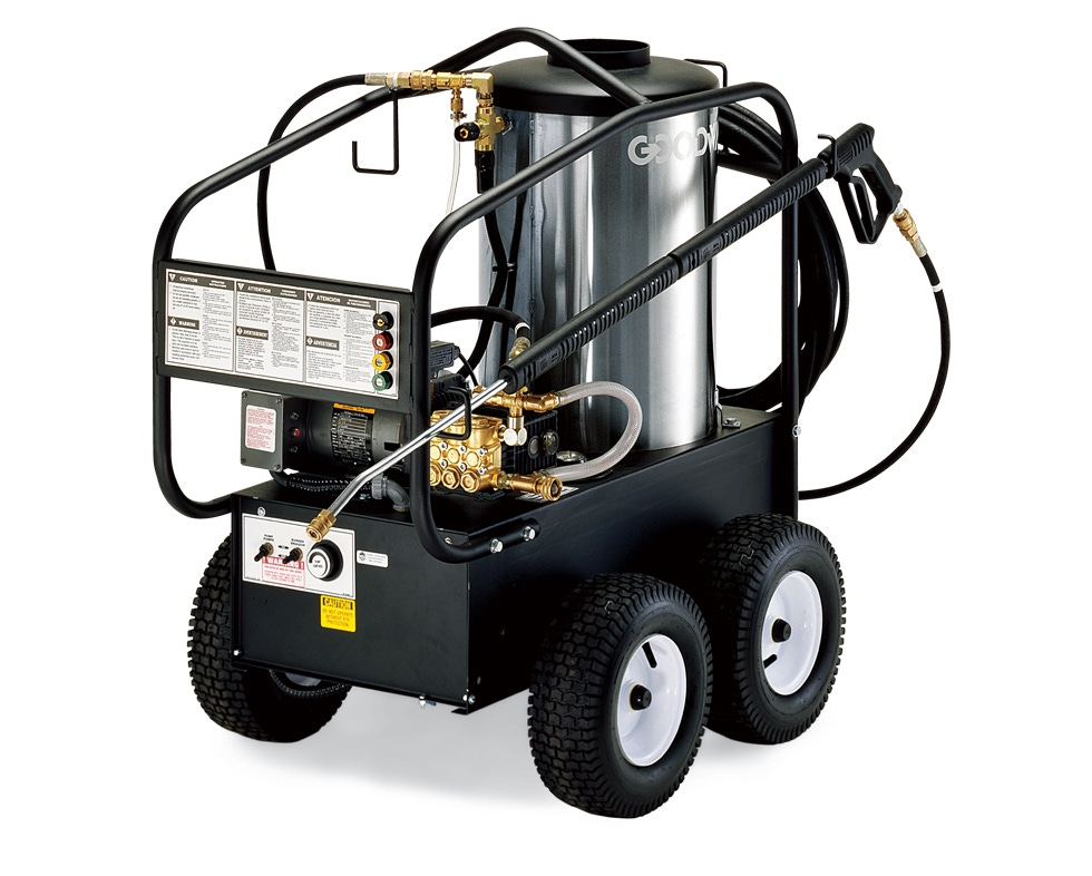 1000 Psi Electric Powered Hot Water Pressure Washer With