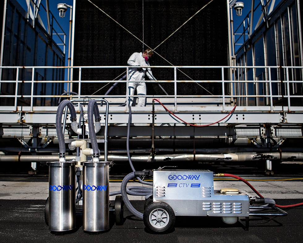 Cooling Tower Vacuum - Cooling Tower Cleaning - Goodway