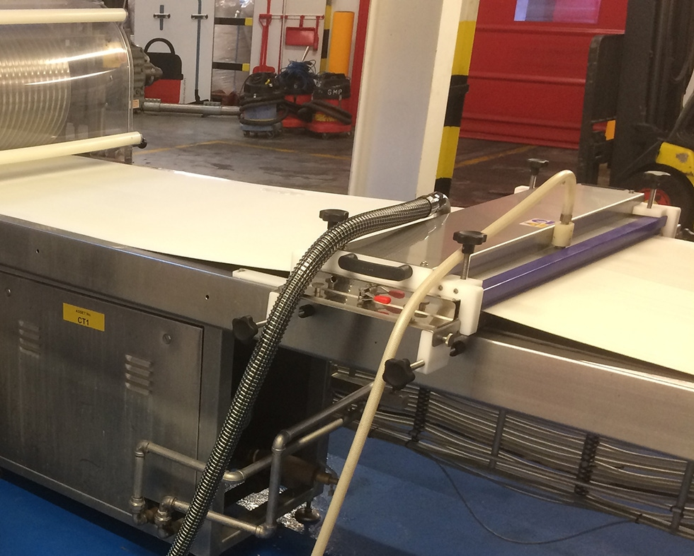 Brushless Dry Steam Belt Cleaning Systems | Conveyor Belt Cleaning