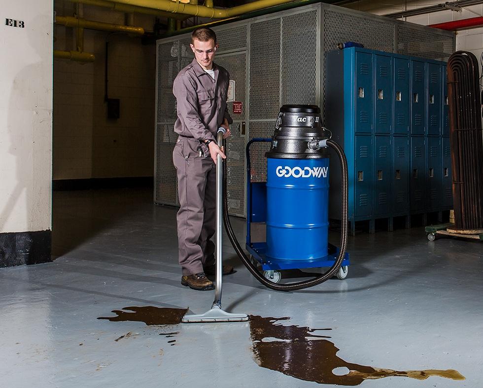 Industrial Wet Dry Vacuum 55 Gallons