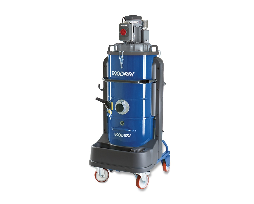 Industrial Vacuum, Dry, Extra Heavy Duty, Continuous Duty