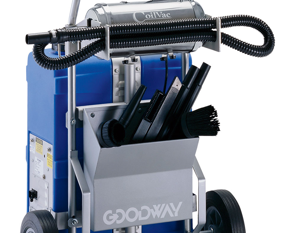 Coilpro wetdry coil cleaning system wcoilvac coil cleaning the complete coil cleaning system same as cc 140 but with coilvac dry hepa vacuum mounted on dolly including filters stainless steel tank sciox Gallery