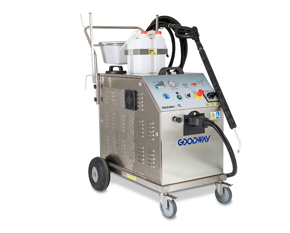 For Larger, Continuous Cleaning And Sanitizing Needs At A Food Processing  Plant, Factory Or Industrial Park, This Is The Dry Steam Cleaner For You.