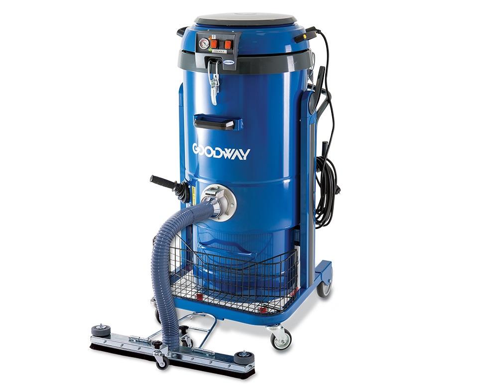 Industrial Vacuum Dry Heavy Duty Walk Behind W Triple