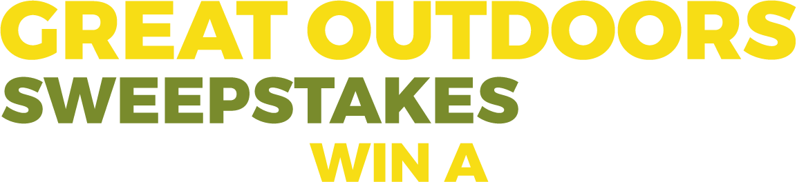 Great Outdoors Sweepstakes 2018