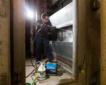 Commercial HVAC Coil Cleaning Systems