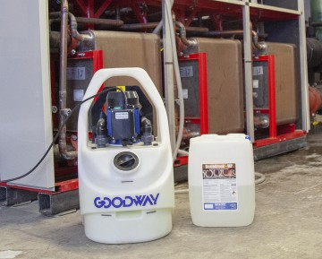 Goodway industrial descaling system