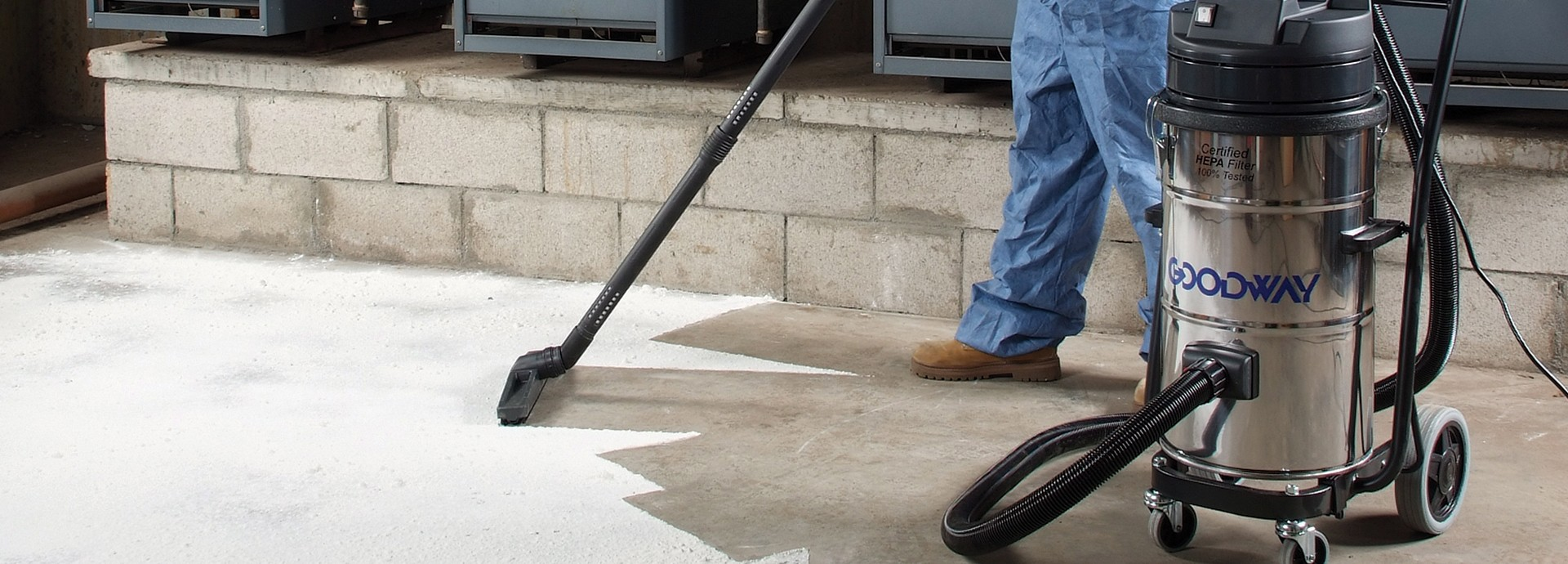 How to Pick a High Quality Industrial HEPA Vacuum | Goodway Technologies