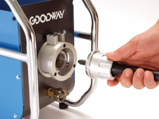 Goodway Quick Connect Tube Cleaner Shaft