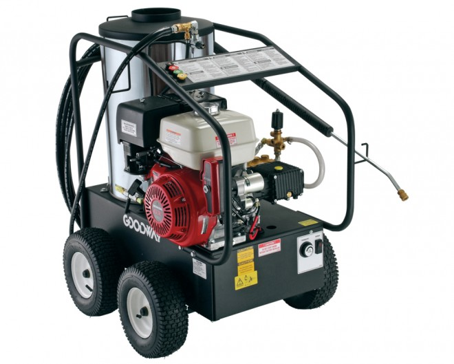 Gasoline Powered Hot Water Pressure Washer 3500 Psi Gas
