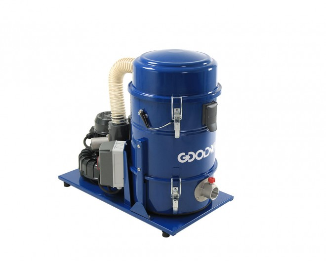 Continuous Duty Industrial Vacuum
