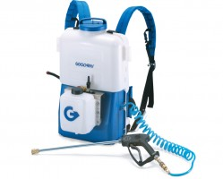Goodway Technologies pioneered the portable coil cleaning system.