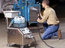 GVC-1502 Goodway Steam Cleaner In Use