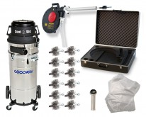 Boiler Tube Cleaning Kit with Soot Vacuum